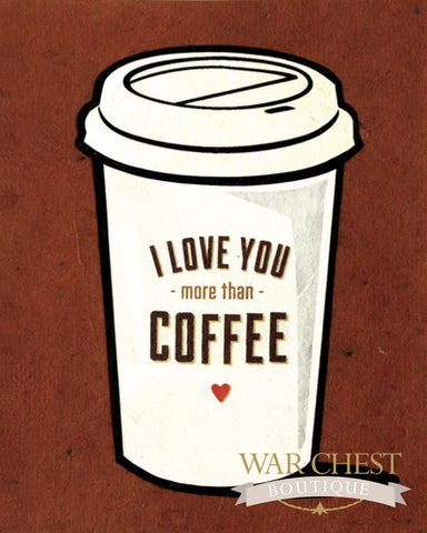 Coffee Love Card