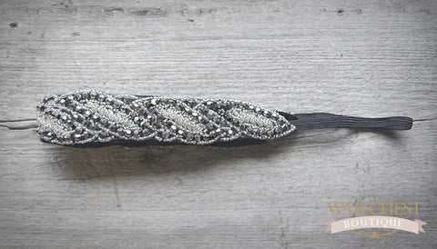 Luxe Silver Glamour Headband