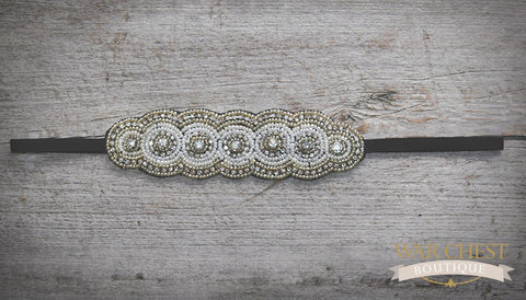Luxe Pearl Beauty Headband