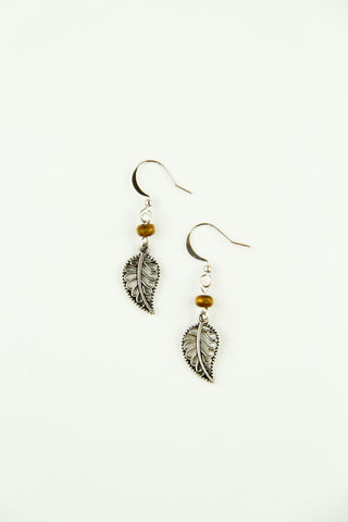 Lovely Leaflet Earrings