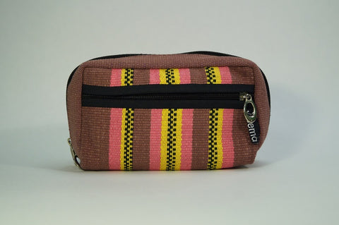 Large Handwoven Pencil Case - Colors Vary