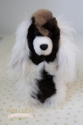 Stuffed Alpaca Dog