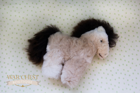 Stuffed Alpaca Pony