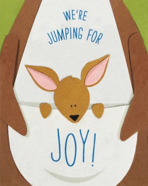 Jumping For Joy Card