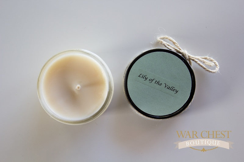 lily of the valley candle 4 oz war chest boutique