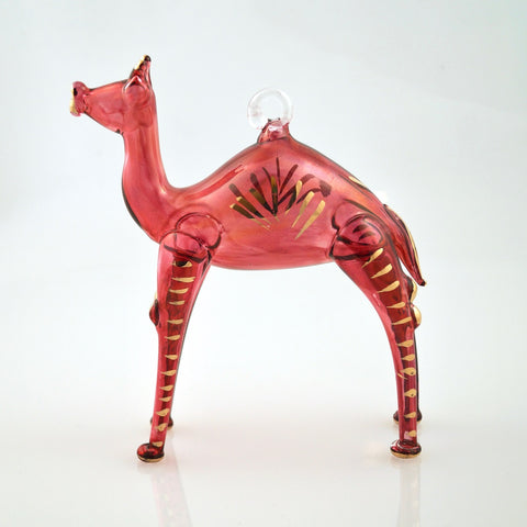 Camel Ornament in Red - Ornaments - WAR Chest Boutique