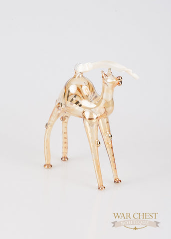 Camel Ornament in Yellow