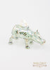 Hippo Ornament Green - Ornaments - WAR Chest Boutique