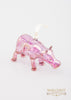 Hippo Ornament Purple - Ornaments - WAR Chest Boutique