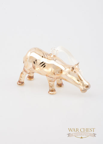 Hippo Ornament Yellow