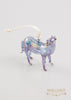Horse Ornament Blue - Ornaments - WAR Chest Boutique