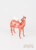 Horse Ornament Red - Ornaments - WAR Chest Boutique