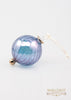 Beveled Ball Ornament Blue - Ornaments - WAR Chest Boutique