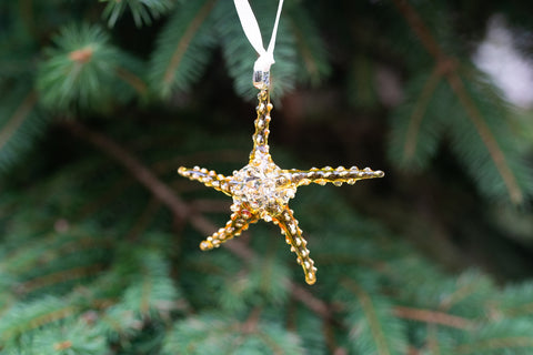 Starfish Ornament Yellow