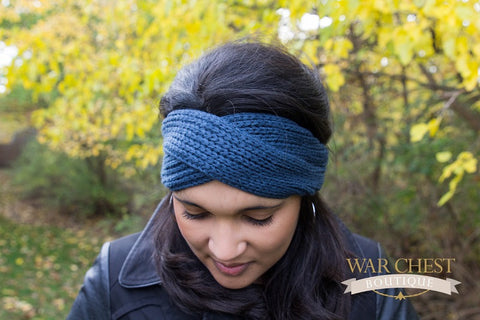 Deep Sea Twist Winter Headband