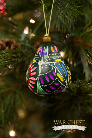 Colorful Gourd Ornament