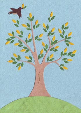 Peaceful Tree Card