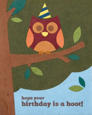 Birthday Hoot Card