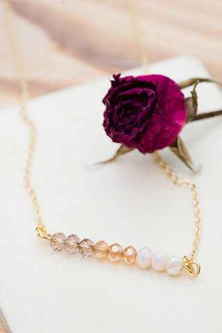 Blushing Beauty Necklace