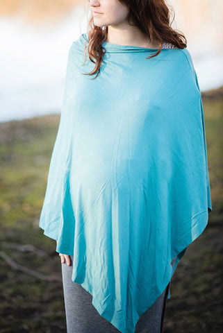 Nile Blue Nursing Poncho