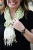 Surya Stripes Lime Green Scarf