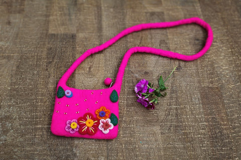 Children's Flower Purse