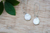 Ocean Pearl Teardrop Earrings