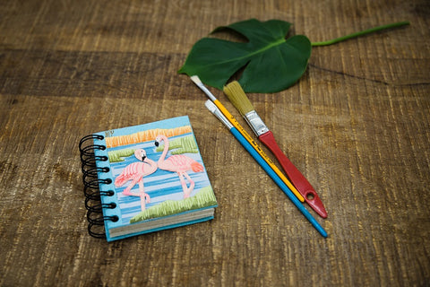 Small Flamingo Notebook