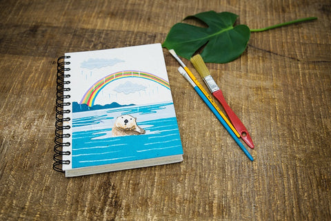 Large Otter Notebook