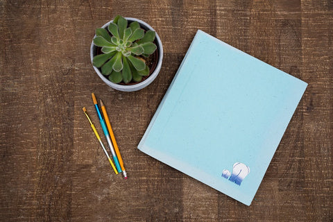 Light Blue Sketchbook