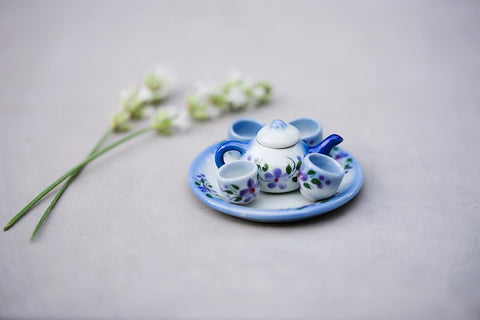 Mini Ceramic Tea Set