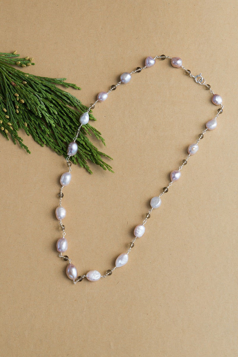 NEW Stunning White Pearl Teardrop Wire Charm on Clear Pave Set Cz Gem Clasp Belly Ring by TummyToys 69126