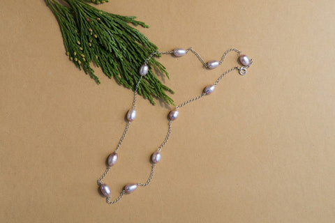 Elicia Pearl Necklace