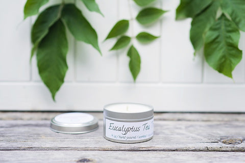Eucalyptus Tea Tree Spa Candle