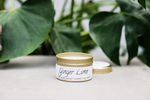 Ginger Lime Spa Candle