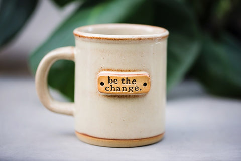 Be the Change Mug - Home Decor - WAR Chest Boutique