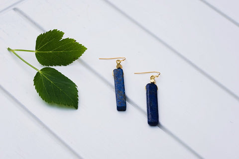 Neptune Bar Earrings