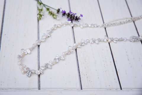 Frosted Necklace