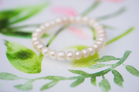 Petite Heirloom Pearl Bracelet for Children - WAR Chest Boutique
