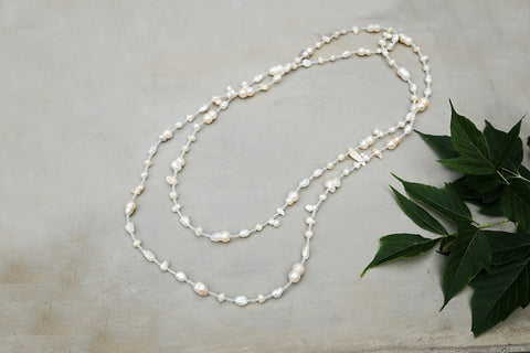 Sofia White Pearl Necklace