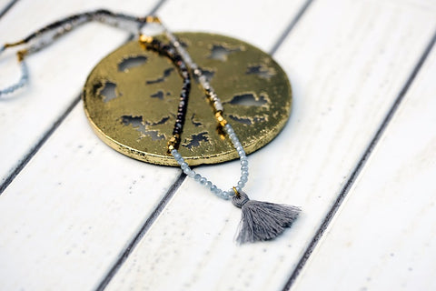 Smoky Calypso Necklace