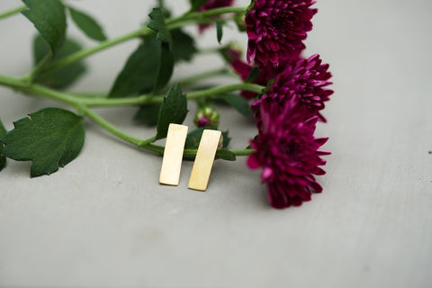 Mia Bar Earrings for Women - Jewelry - WAR Chest Boutique