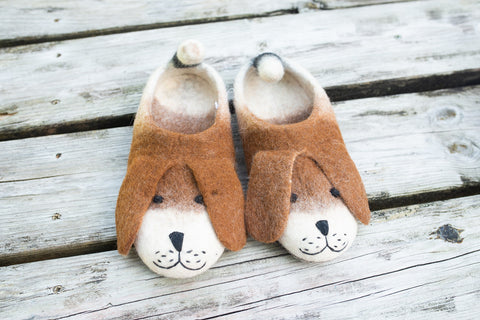 Felt Animal Slipper