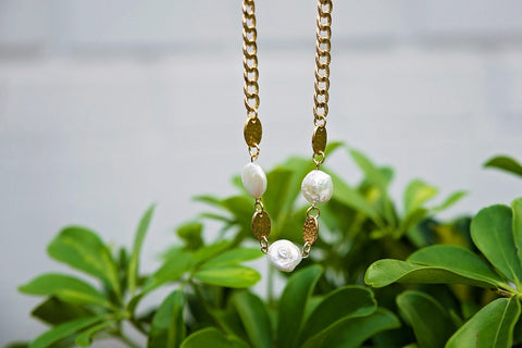 Joselyn Pearl Necklace