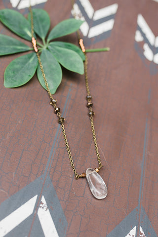 Quartz Layered Necklace for Women - Jewelry - WAR Chest Boutique