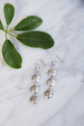Silver Birch Earrings
