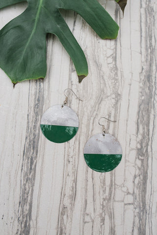 Be Bold Earring - Green