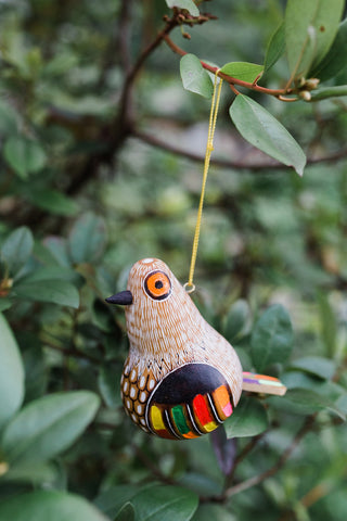 Colorful Bird Gourd Ornament - Ornaments - WAR Chest Boutique