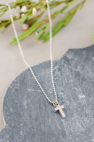 Children's Dotty Cross Necklace