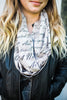 Taupe War Remembrance Infinity Scarf - Accessories - WAR Chest Boutique